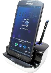 Dockingstation mit Audioausgang für LG Nexus 4 - Galaxy Note 2 - und Galaxy S3