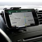 KFZ Handyhalterung für LG Nexus 4 Quer