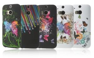 Akku-King Handycover für das HTC one M8 - verschiedene Muster